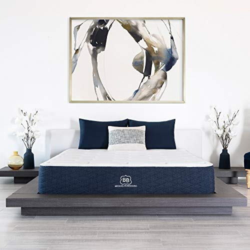 Brooklyn Signature 11' Hybrid Mattress with Patented TitanFlex Pressure Relieving Foam, Queen Soft