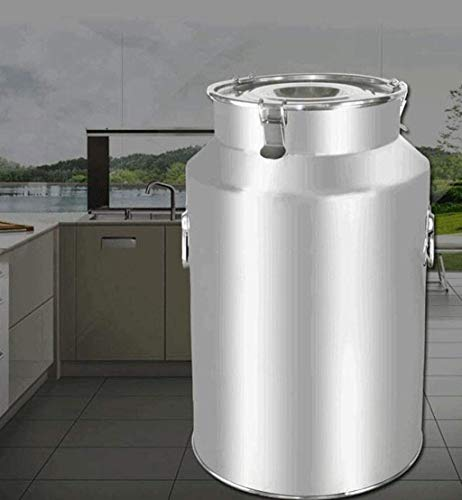 Stainless Steel Sealed Barrel, 28L-88L Multifunctionele Milk Barrel Oil Storage Rice Barrel Thee Blikken Maken van de Wijn Barrel, Highly Sealed for de lange afstand Transport/Commercieel/Indusatr