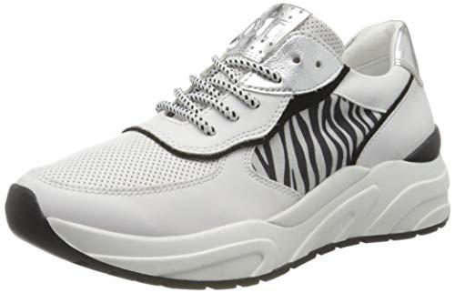 MARCO TOZZI Damen 2-2-23745-34 Sneaker, Mehrfarbig (White/Zebra 131), 40 EU