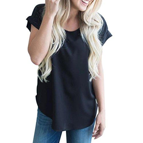 Preisvergleich Produktbild ESAILQ Damen Pailletten Shirt Träger Top Weste Top Oberteil Ärmellos T-Shirt Tanktop Blouse(S, Schwarz)