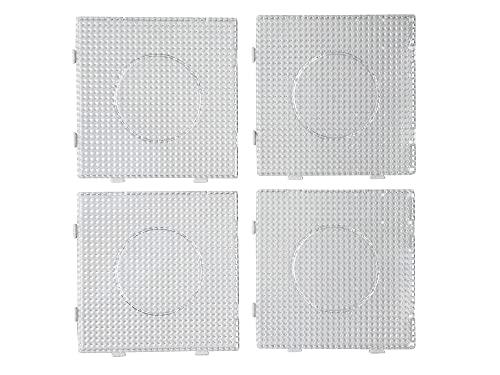 4 Stück, Bügelperlen Stiftplatten, Steckplatten, einzeln und auch als eine...