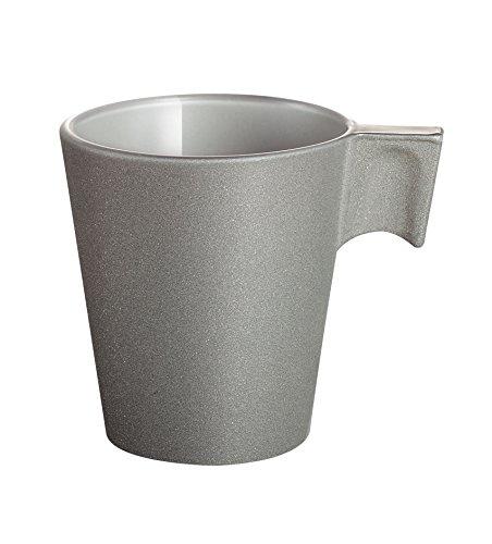 Luminarc 8012318 Loft Stone - Taza 8 cl, color gris