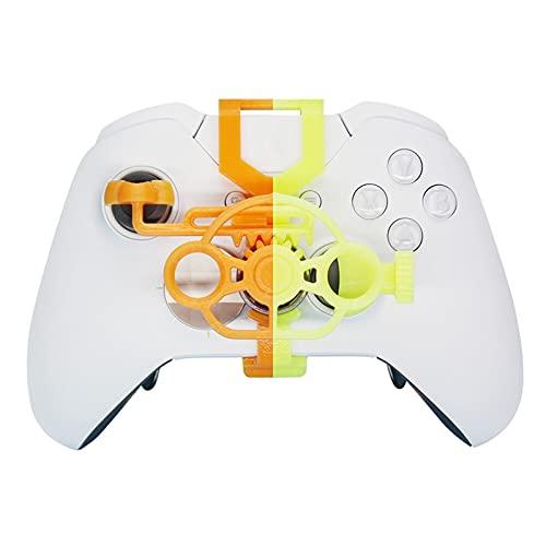 CML Racing Jeu Mini contrôleur de Volant adapté à la Xbox One One S/X&Ensemble de pièces de Volant de Roue de Jeu de Remplacement de contrôleur d'élite (Color : Thermochromic)