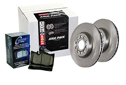 StopTech 905.65017 Select Axle Pack Frontal y Trasero, incluye rotores y almohadillas Selectores de ejes
