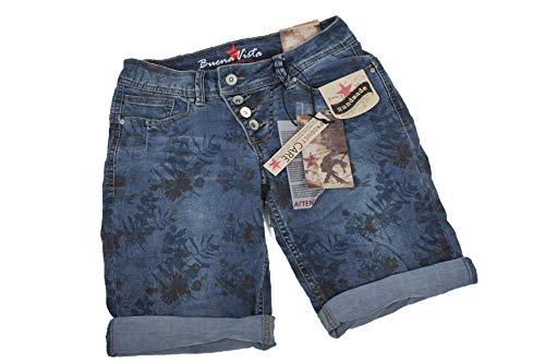 Buena Vista Damen Jeansshorts Malibu Regular Fit blau (51) M