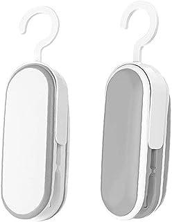 NIDONE Mini torba Uszczelniacz Handheld Heat Pictuum Uszczelniacze 2 w 1 Uszczelniacz ciepla do Plastikowych Torby Przecho...