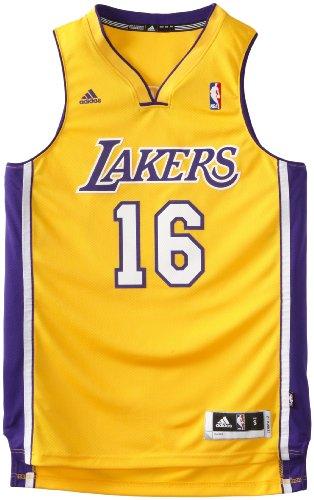 NBA Los Angeles Lakers Pau Gasol Swingman Jersey, Gold, XX-Large