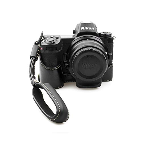 kinokoo PU Leder Tasche für Nikon Z6 Z7 Kamera Halbtasche