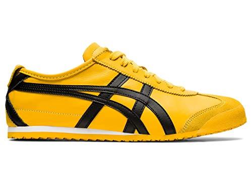 Onitsuka Tiger Unisex Mexico 66 Shoes, 9.5W, Yellow/Black