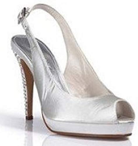 Elegante Sandalette von Apart in Creme Gr. 39