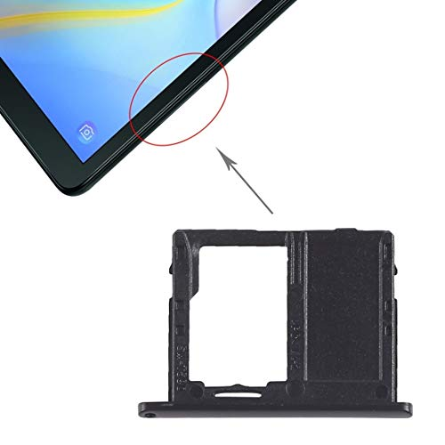 XANTHOS -Micro SD Card Tray for Galaxy Tab A 10.5 inch T590 (WiFi Version)(Black) Waterproof (Color : Black)
