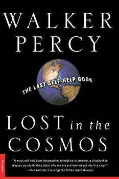 Paperback Lost in the Cosmos : The Last Self-Help Book