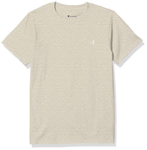 Champion Men s Classic Jersey T-Shirt, Oatmeal Heather, S