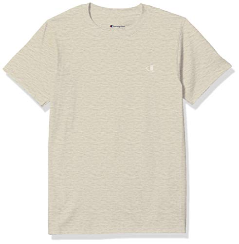 Champion Men's Classic Jersey T-Shirt, Oatmeal Heather, S