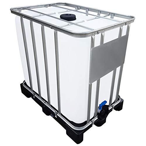 Werit 800l IBC Container UN-Zulassung auf PE-Palette NEU