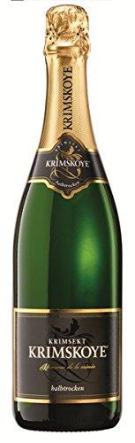 Krimskoye Krimsekt weiss halbtrocken 12% 6-0,75l Flaschen