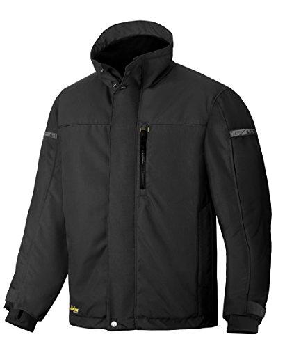 Snickers Workwear 1100 AllroundWork Arbeitsjacke gefüttert mit 37.5 Technologie, schwarz, S