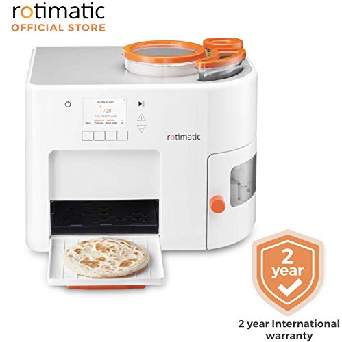 Best Deals! Rotimatic – Automatic Roti Maker Machine with 2 Years base warranty (Official Listing)