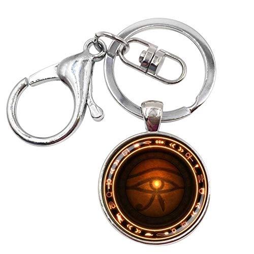 Unbekannt Générique Schlüsselanhänger, Taschenschmuck, Horusauge, ägyptischer Gott