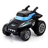 CMXUHUI Baby's Favorite Toy a Nice Gift for Christmas 1:24 RC Stunt Car Remote Control Car 3D Flip Drifting Off Road Crawler Machine Radio Controlled Vehicle Model Toys for Children