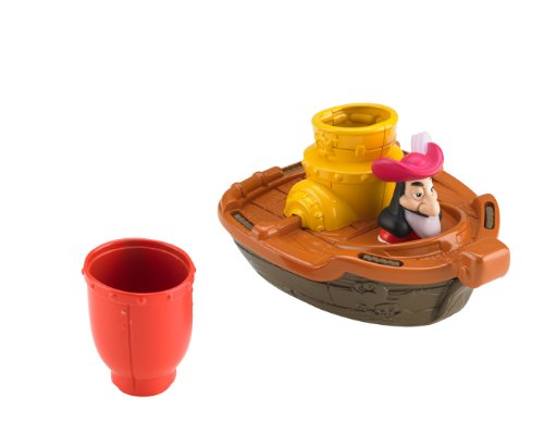 Import CBC83 Fisher-Price Disney Jake and The Never Land Pirates Izzys Never Sea Mini-Sub Fisher Price