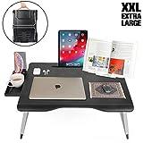 Cooper Mega Table [Support Pliant XXL pour Ordinateur Portable Lit & Canapé]|Table...