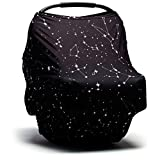 Moody Park Baby - Baby Car Seat Covers and Nursing Cover (Constellation), Car Seat Covers for Babies, Car Seat Cover for Babies