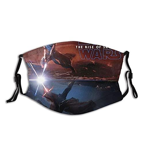 Hirola Máscara facial de Star Wars para hombres, mujeres, niños, adolescentes, cómoda, lavable, reutilizable, para cosplay
