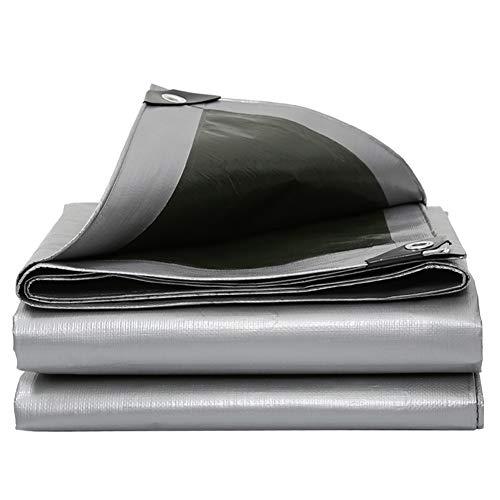 FINLR Lona Alquitranada PE Paño De Lluvia 180g / ㎡ Espesor 0.5 Mm, Impermeable Protector Solar Sombrilla Cámping Abrigo Cubierta De Lona, Apto para Todas Las Estaciones (Color : 2X2M)
