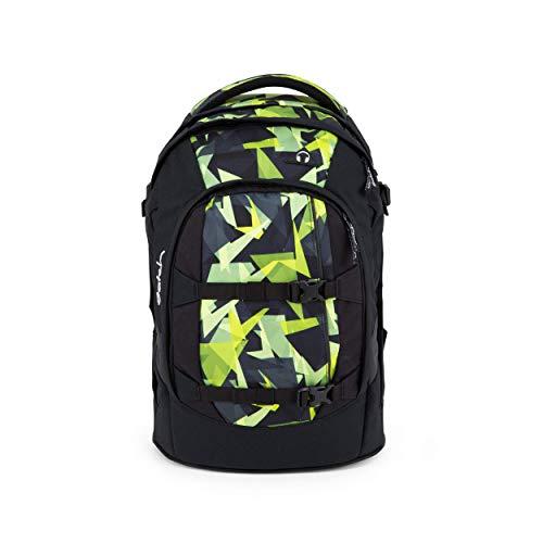 satch Pack Gravity Jungle, ergonomischer Schulrucksack, 30 Liter, Organisationstalent, Schwarz/Gelb