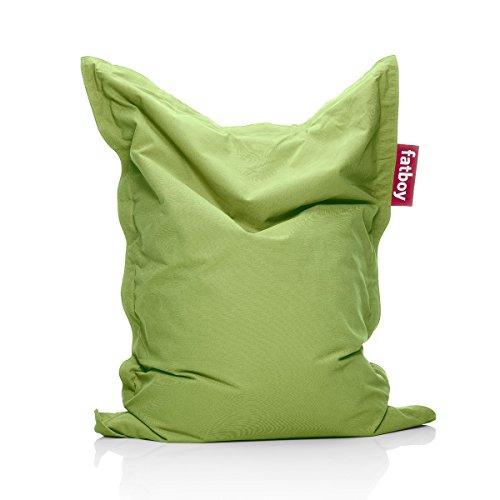 Fatboy Junior Stonewashed Sitzsack Lime Green, Baumwolle 130 x 100 cm