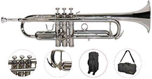 Steinbach Bb- Trompete in Silber mit Neusilber Ventilen - Bestangebot
