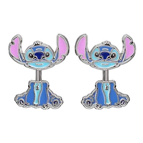 Disney Lilo y Stitch Pendientes del oído de la Chaqueta