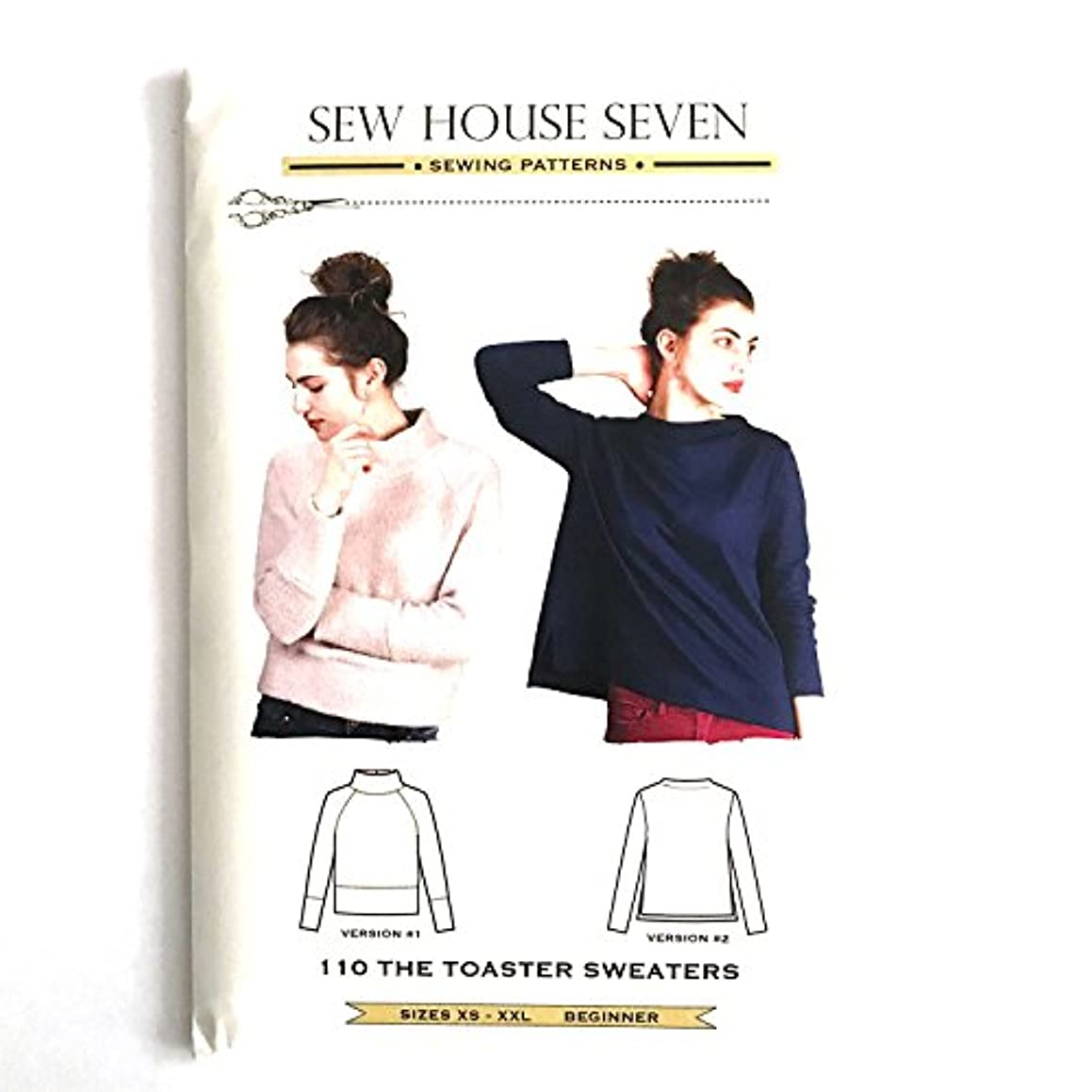 Sew House Seven 110 Toaster Sweaters #1 & #2 Ptrn, None