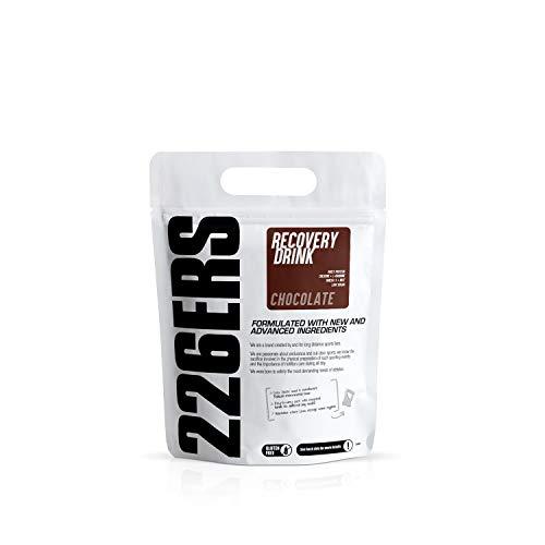 226ERS Recovery Drink   Recuperador Muscular con Proteína Whey, Creatina, Hidratos de Carbono, Triglicéridos y L-Arginina, Sin Gluten, Chocolate - 500 gr
