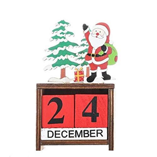 Vintage Wooden Advent Calendar, for...