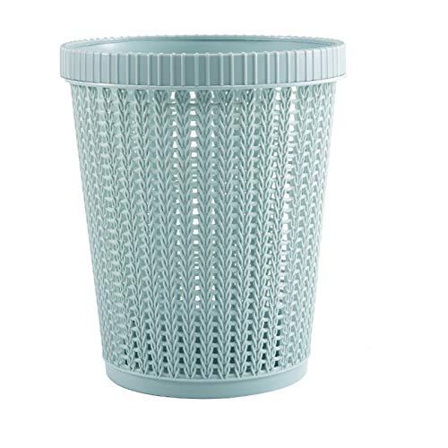 HDSFD Bolsa de basura para el hogar, creativa cocina, prensa de círculo, papelera para dormitorio, cambio perezoso, 1 pieza