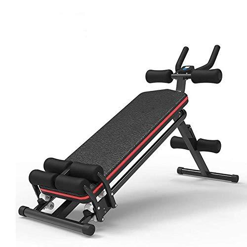 ZOUJUN Total Gym Versátil Interiores Entrenamiento Total del Cuerpo Entrenamiento de la Fuerza silenciosa Equipo de la Aptitud de Peso Pérdida de Dispositivos - Multifuncional músculo Abdominal