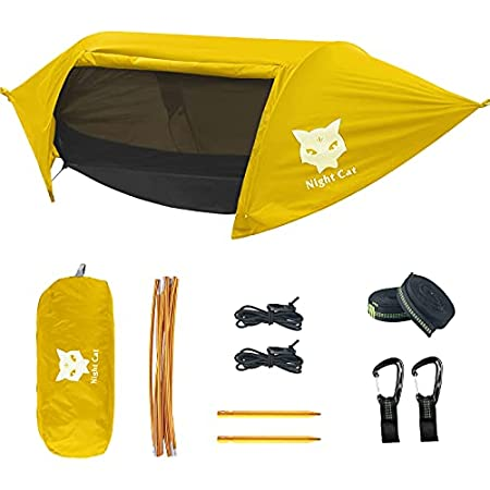 Night Cat Camping Hammock Tent with Mosquito Net