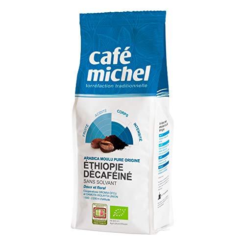 CAFÉ MICHEL - Décaféiné Moulu Sans Solvant Ethiopie 250G - Lot De 3