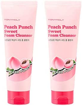 TONYMOLY Peach Punch Sweet Foam Cleanser 2 Count product image