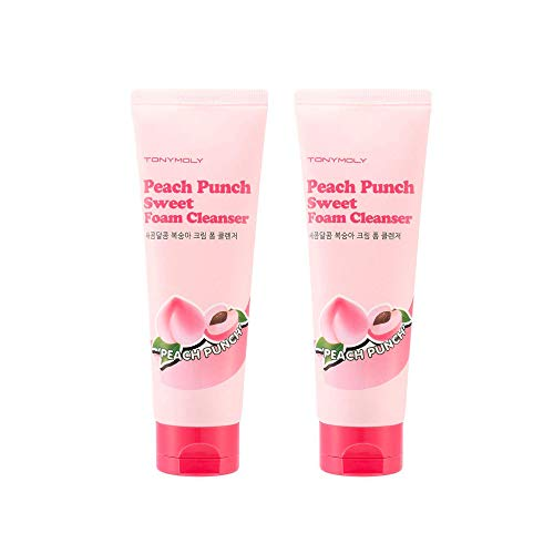 TonyMoly Peach Punch Sweet Foam Cleanser