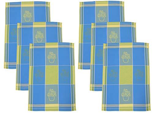 Taille 100/% Coton BETZ Lot de 3 torchons de Cuisine essui-Verres /à Carreaux 50 x 70 cm