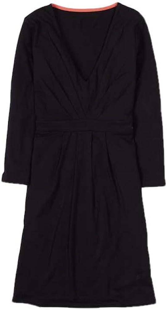 BODEN Pretty Gathered Black WL861 Tunic Dress Size US 2 P
