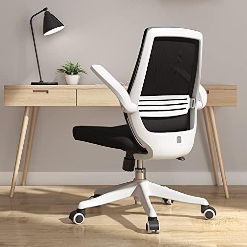SIHOO Moderner ergonomischer Bürostuhl, Schreibtischstuhl, atmungsaktiver Kompaktstuhl, Taillenstütze, anhebbare und umkehrbare Armlehne,...