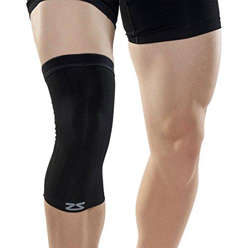 Zensah Compression Knee Sleeve, Small/Medium,...