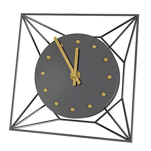 Moderno Mantel Creativo Reloj pequeño Reloj de Pared Chimenea Mantel Mute Desk Relk para Mesa de Mesa Dormitorio Dormitorio Decoración