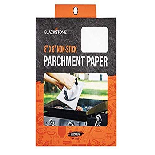 Blackstone 5113 Silicone(Parchment Paper) Hamburger Sheets, White