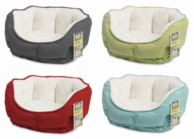 Plush Pet Bed Available In Multiple Colors