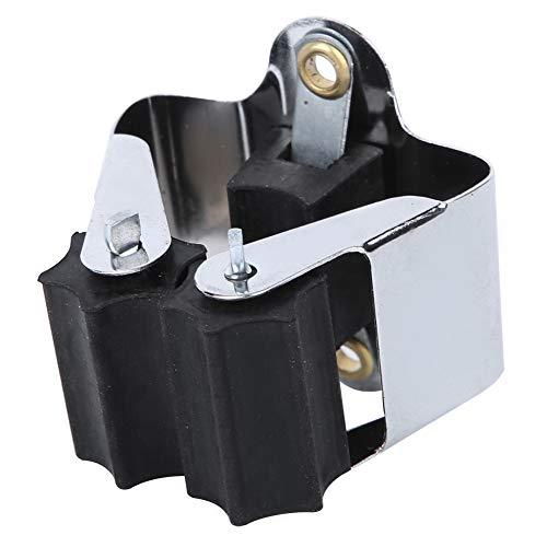 Clip industrial, clip de almacenamiento de metal + resina, para colgar utensilios de cocina, suspensión, fregona, escoba